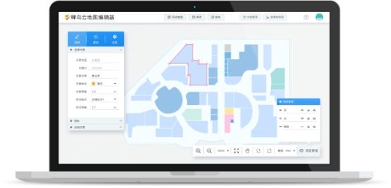 蜂鸟云重拳出击地图编辑器革新室内地图传统方式