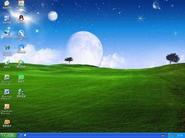 惠普 GHOST XP SP3 笔记本专用版 V2019.03