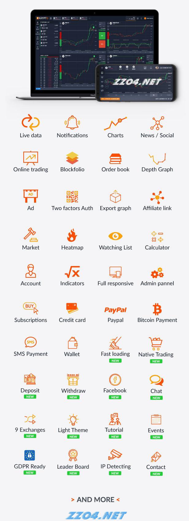 Krypto v3.0 - PHP在线加密货币购买交易平台 转自顶点网