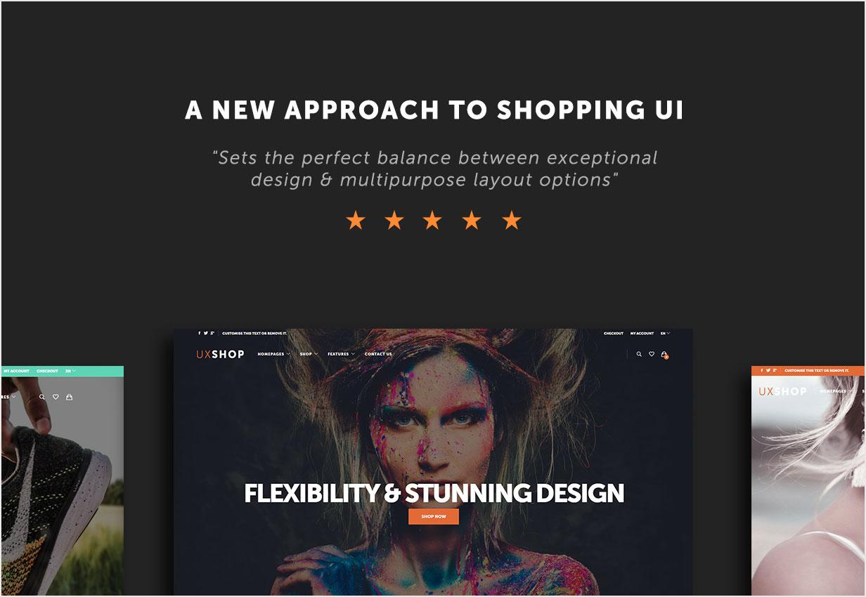 WooCommerce主题 UX Shop v2.2.0